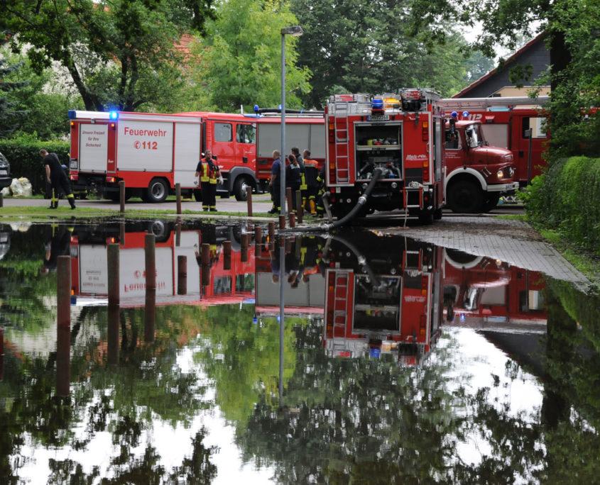 Dorfaue Leegebruch am 2.7.2017 (Foto: Hajo Eckert)