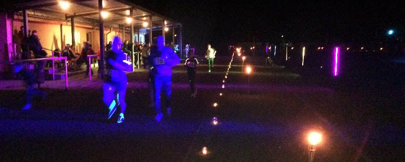 Impression vom Lichterpaarlauf 2014 (Foto: Giso Siebert)