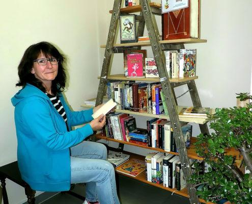 Bücherleiter (Foto: Liane Protzmann)