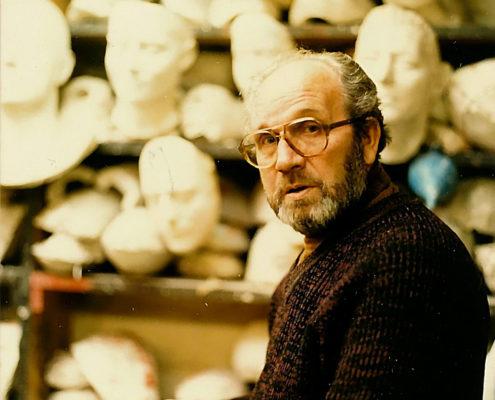 Eddie Fischer, Theaterplastiker (Foto: Hajo Eckert)