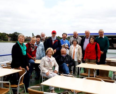 Schiffsrundfahrt auf den Rheinsberger Seen