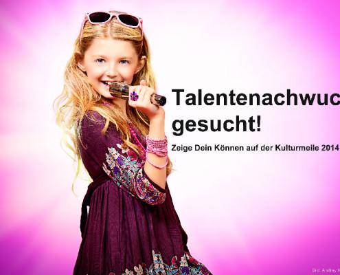 Talentenachwuchs gesucht! Zeige Dein Können auf der Kulturmeile 2014. (Bild: Andrey Kiselev/fotolia.de)