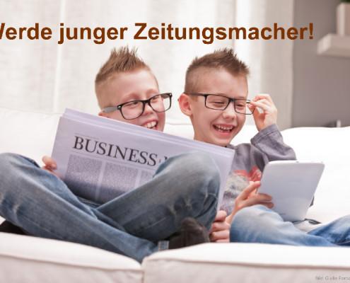 Werde junger Zeitungsmacher! (Bild: Giulio Fornasar/fotolia.de)