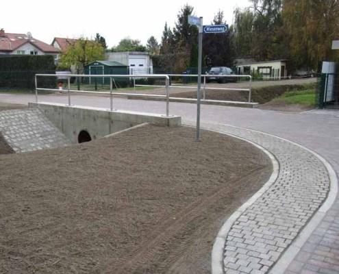 Neuer Durchlass am Wiesenweg (Foto: Gemeindeverwaltung)