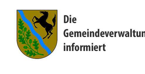 Die Gemeindeverwaltung informiert