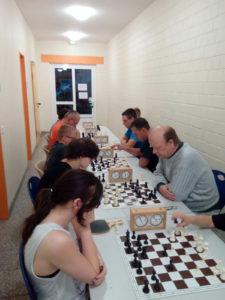 Schach meets Tischtennis