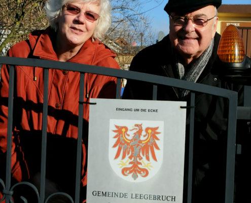 Schiedsleute Brigitte Zunke und Jürgen Nix 2012 (Foto: Hajo Eckert)