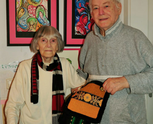 Dorette Ziegeler und Rolf Kröger (Foto: Hajo Eckert)