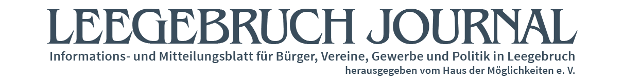 LEEGEBRUCH JOURNAL