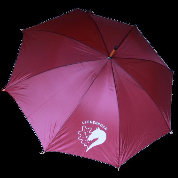 "Regenschirm ""Leegebruch"" (offen, Draufsicht)"