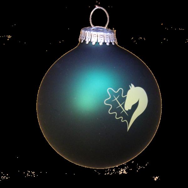 Weihnachtsbaumkugel mit Leegebruch-Logo